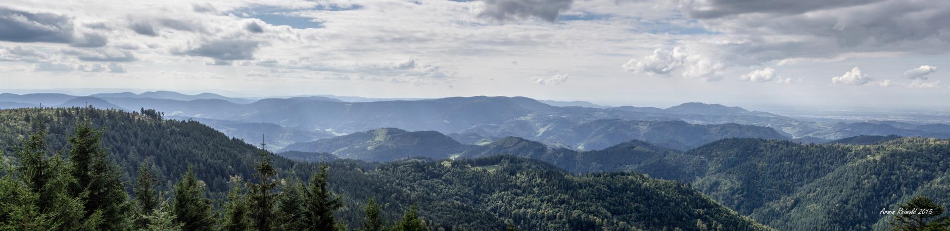 Panorama Nordschwarzwald